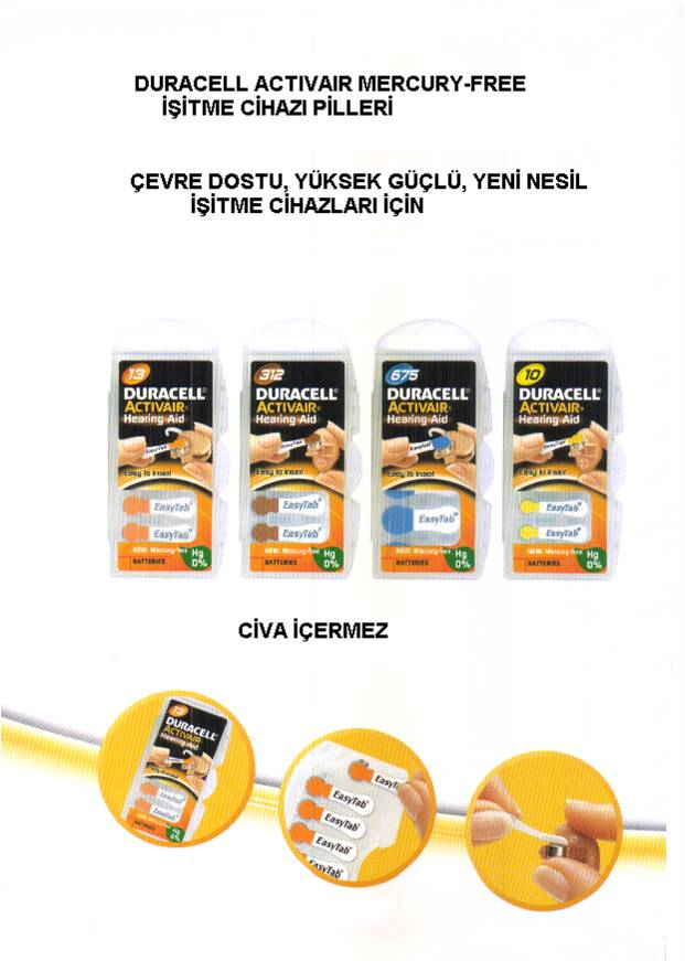 Duracell İC Pil2